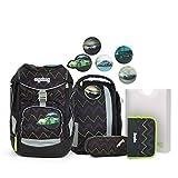 Ergobag Pack, Drunter und DrüBär, ergonomischer Schulrucksack, Set 6-teilig, 20 Liter, 1.100 g,