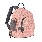 LÄSSIG Kinderrucksack Kindergartentasche mit Brustgurt/Mini Backpack Spooky peach