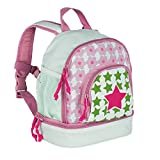 LÄSSIG Kinderrucksack Kindergartentasche mit Brustgurt/Mini Backpack Starlight Magenta