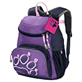 Jack Wolfskin Kinder Little Joe Bequemer Kinderrucksack, deep Lavender, ONE Size
