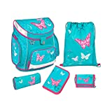 Scooli Campus UP Schulranzen-Set 5-tlg Butterfly BUKR butterfly