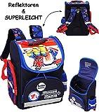 alles-meine.de GmbH Schulranzen -  Minions - Ich einfach unverbesserlich - Vespa  - SUPERLEICHT & ergonomisch + anatomisch - Schulrucksack / mit Reflektor - Tasche - wasserfest..