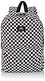 Vans Herren Rucksack M Old Skool II Backpack, Schwarz (schwarz/weiß kariert) Che, 42.5 x 32 x 12.5 cm, 22 Liter, VONIHU0