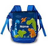 Striefchen Kindergarten Tasche - Dinos - als Rucksack mit Namen des Kindes