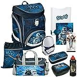 Star Wars - Scooli TWIXTER UP Schulranzen-Set Einschulrucksack 10tlg. mit FEDERMAPPE und Sporttasche