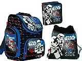 Star Wars Schulrucksack Ranzen Schulranzen Federtasche Federmappe Schuhbeutel Turnbeutel Brotkasten 4 teiliges Set Schulset