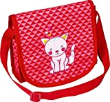 Die Spiegelburg Kleine Freunde Umhängetasche Katze Tasche Kindergarten Mädchen Rosa 20 x 18,5 x 7 cm