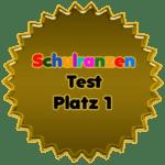 Schulranzen Test Platz 1