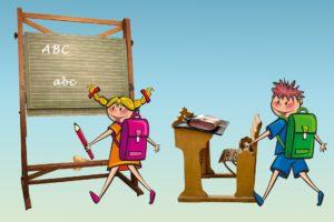 Schulranzen Material und Handling