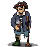 Schulranzen Pirat