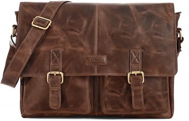 Lehrertasche Aktentasche aus Leder Damen und Herren