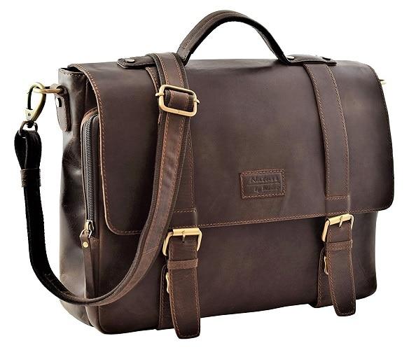 Lehrertasche Aktentasche aus Leder